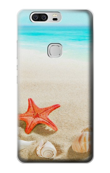 Printed Sea Shells Starfish Beach Huawei Ascend G6 Case