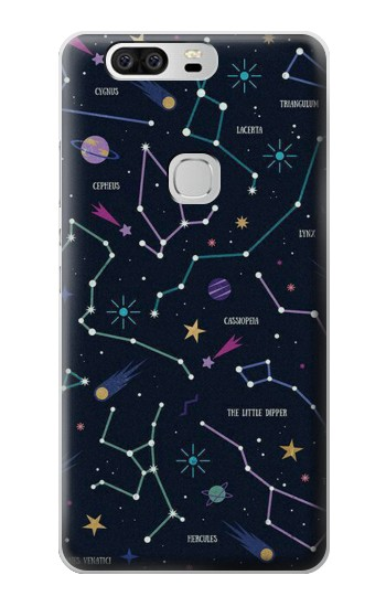 Printed Star Map Zodiac Constellations Huawei Ascend G6 Case