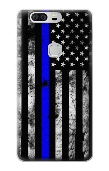 Printed Thin Blue Line USA Huawei Ascend G6 Case