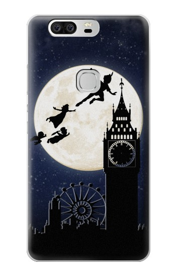 Printed Peter Pan Fly Fullmoon Night Huawei Ascend G6 Case