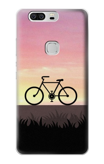 Printed Bicycle Sunset Huawei Ascend G6 Case