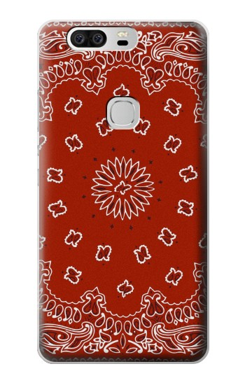 Printed Bandana Red Pattern Huawei Ascend G6 Case