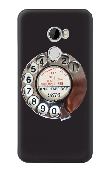 Printed Retro Rotary Phone Dial On HTC Desire 610 Case