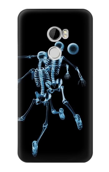 Printed Soccer X-ray HTC Desire 610 Case