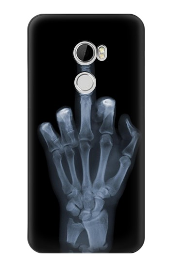 Printed X-ray Hand Middle Finger HTC Desire 610 Case