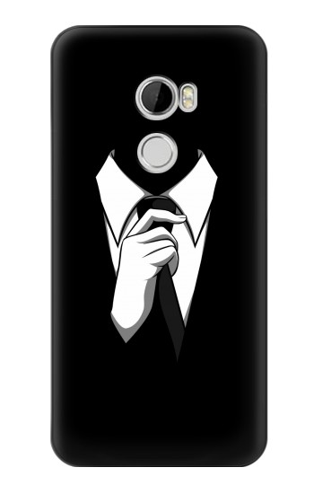 Printed Anonymous Man in Black Suit HTC Desire 610 Case