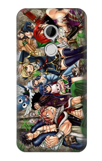 Printed Fairy Tail Guild Members HTC Desire 610 Case