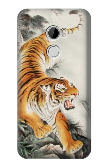 Printed Chinese Tiger Tattoo Painting HTC Desire 610 Case