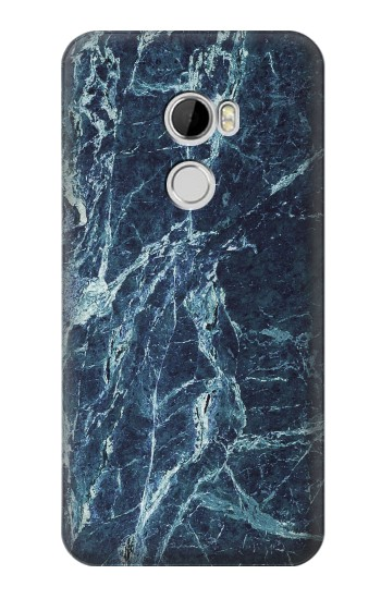 Printed Light Blue Marble Stone Texture Printed HTC Desire 610 Case