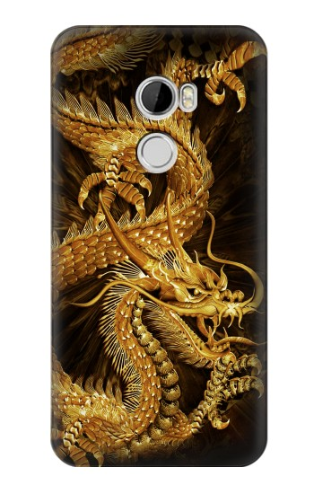 Printed Chinese Gold Dragon Printed HTC Desire 610 Case