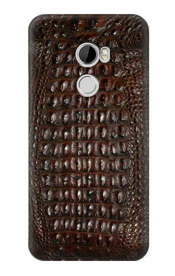 Printed Brown Skin Alligator Graphic Printed HTC Desire 610 Case