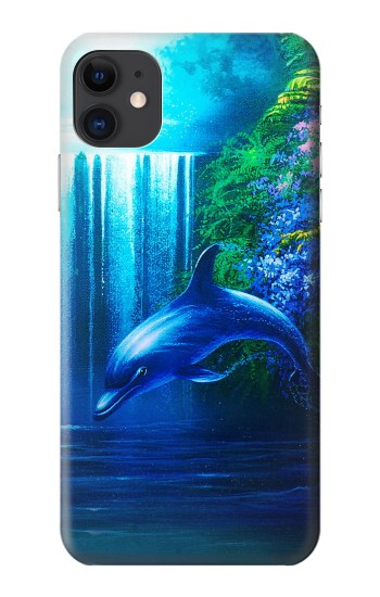 Printed Dolphin iPhone 11 Case