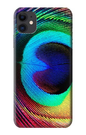 Printed Peacock iPhone 11 Case