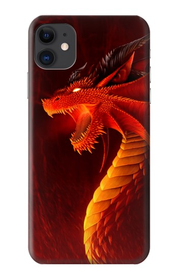Printed Red Dragon iPhone 11 Case