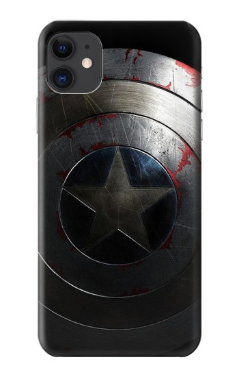 Printed Captain Shield iPhone 11 Case