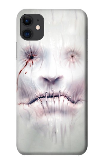 Printed Horror Face iPhone 11 Case