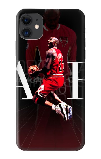 Printed Basketball Air Jordan iPhone 11 Case