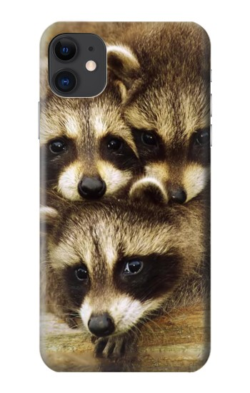 Printed Baby Raccoons iPhone 11 Case
