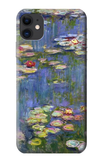 Printed Claude Monet Water Lilies iPhone 11 Case