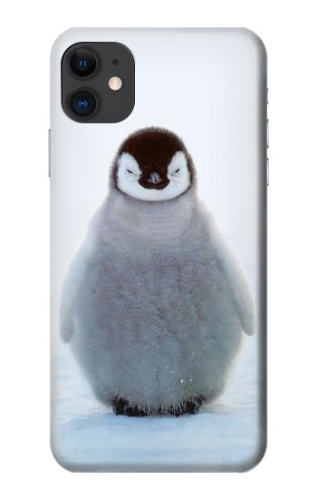 Printed Penguin Ice iPhone 11 Case