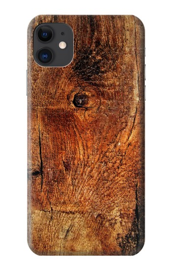 Printed Wood Skin Graphic iPhone 11 Case