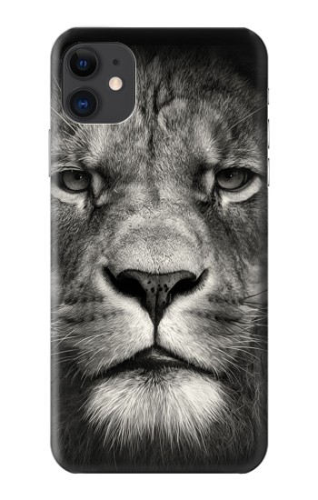 Printed Lion Face iPhone 11 Case