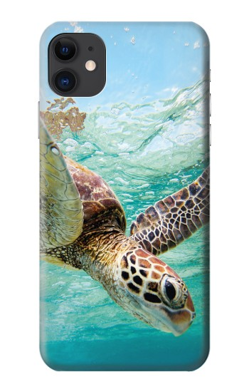 Printed Ocean Sea Turtle iPhone 11 Case