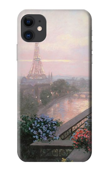 Printed Terrace in Paris Eifel iPhone 11 Case