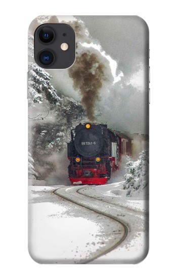 Printed Steam Train iPhone 11 Case