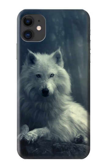Printed White Wolf iPhone 11 Case