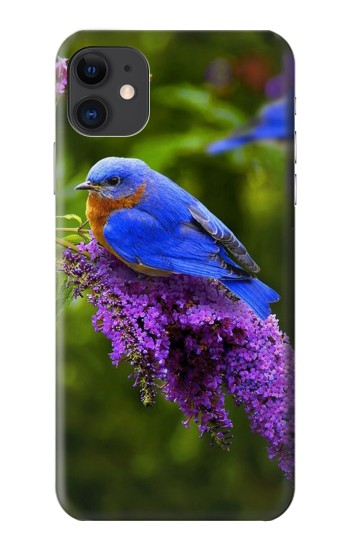 Printed Bluebird of Happiness Blue Bird iPhone 11 Case