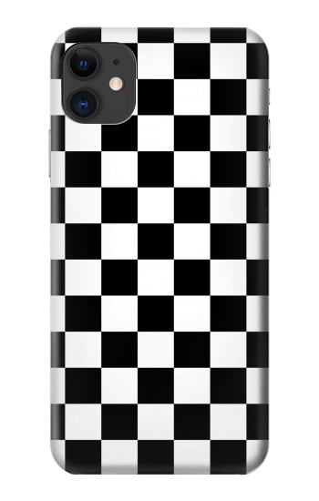 Printed Checkerboard Chess Board iPhone 11 Case