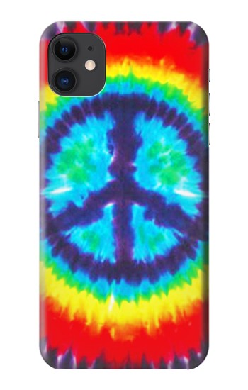 Printed Tie Dye Peace iPhone 11 Case