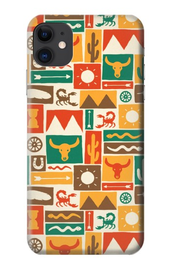 Printed Western Pattern iPhone 11 Case