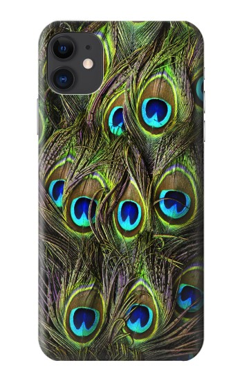 Printed Peacock Feather iPhone 11 Case