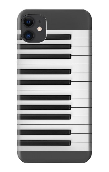 Printed One Octave Piano iPhone 11 Case