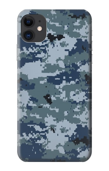 Printed Navy Camo Camouflage Graphic iPhone 11 Case