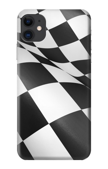 Printed Checkered Winner Flag iPhone 11 Case