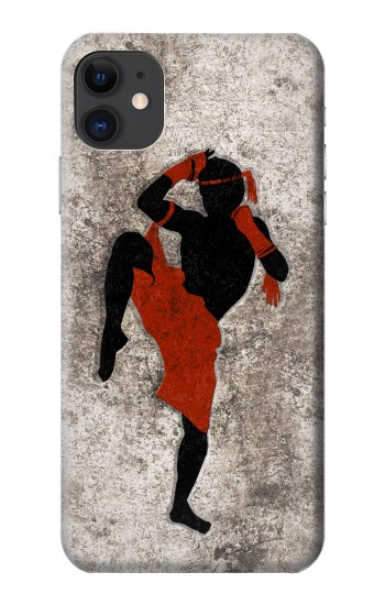 Printed Muay Thai Fight Boxing iPhone 11 Case