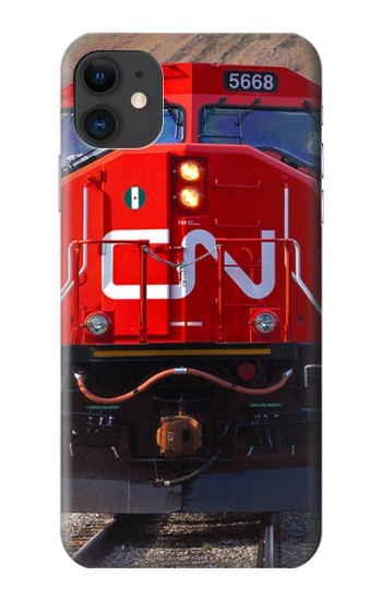 Printed Train Canadian National Railway iPhone 11 Case