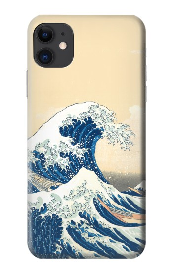 Printed Under the Wave off Kanagawa iPhone 11 Case