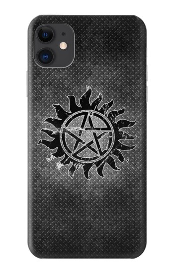 Printed Supernatural Antidemonpos Symbol iPhone 11 Case