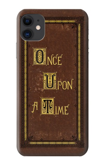 Printed Once Upon a Time Book Cover iPhone 11 Case