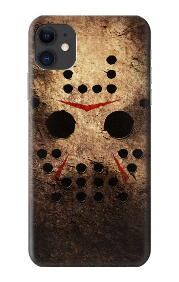Printed Jason Hockey Mask iPhone 11 Case
