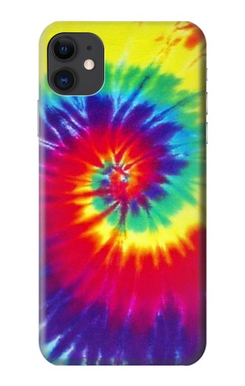 Printed Tie Dye Fabric Color iPhone 11 Case