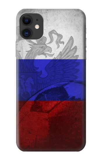 Printed Russia Football Flag iPhone 11 Case