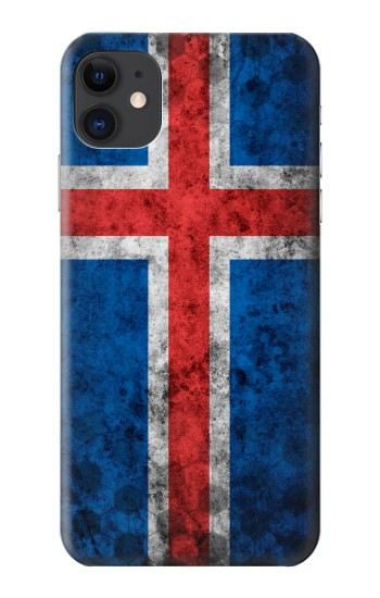 Printed Iceland Football Flag iPhone 11 Case