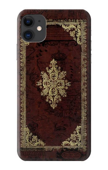 Printed Vintage Map Book Cover iPhone 11 Case