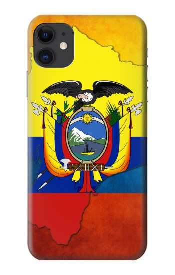 Printed Ecuador Flag iPhone 11 Case