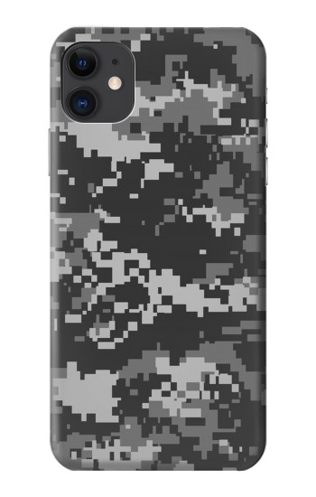 Printed Urban Black Camouflage iPhone 11 Case